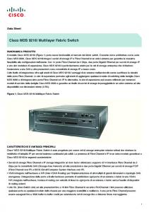 Cisco MDS 9216i Multilayer Fabric Switch