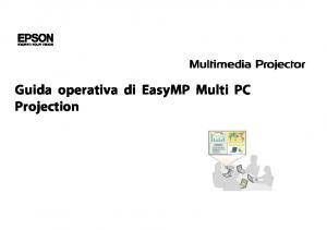 Guida operativa di EasyMP Multi PC Projection