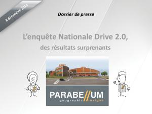 L enquête Nationale Drive 2.0,